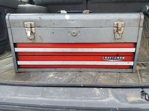 Craftsman tool box for Sale in Marietta, GA