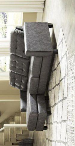 Venaldi Gunmetal Sofa Chaise for Sale in Pflugerville,  TX