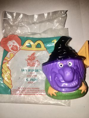 Vintage Halloween McDonald's happy meal Toy costume figure mask for Sale in Los Angeles, CA