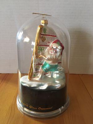 Unique Treasure Collection Limited Series Glass Santa Ornament for Sale in Los Angeles, CA