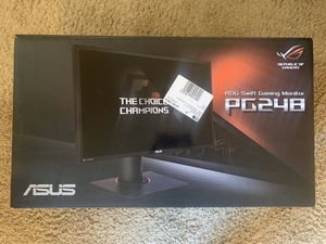ROG Computer/Gaming Monitor PG248 for Sale in Naperville, IL