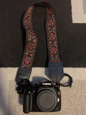 Canon Eos Rebel T3 Camera Body w/ Couch Camera Strap for Sale in Costa Mesa, CA