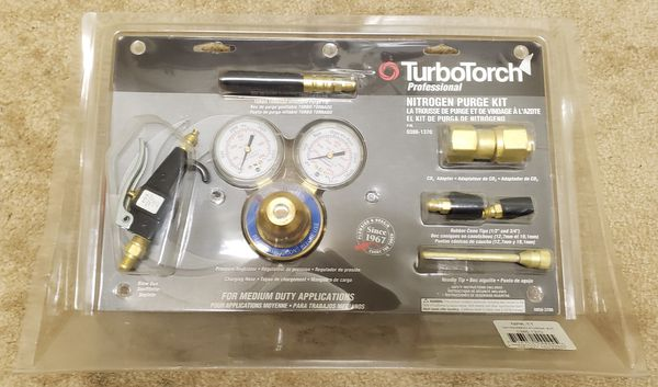 Turbo Torch Nitrogen Purge Kit
