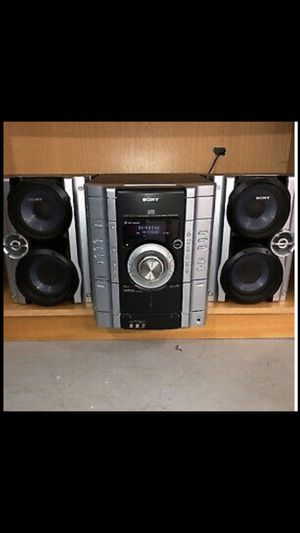 Sony stereo system for Sale in Alta Loma, CA