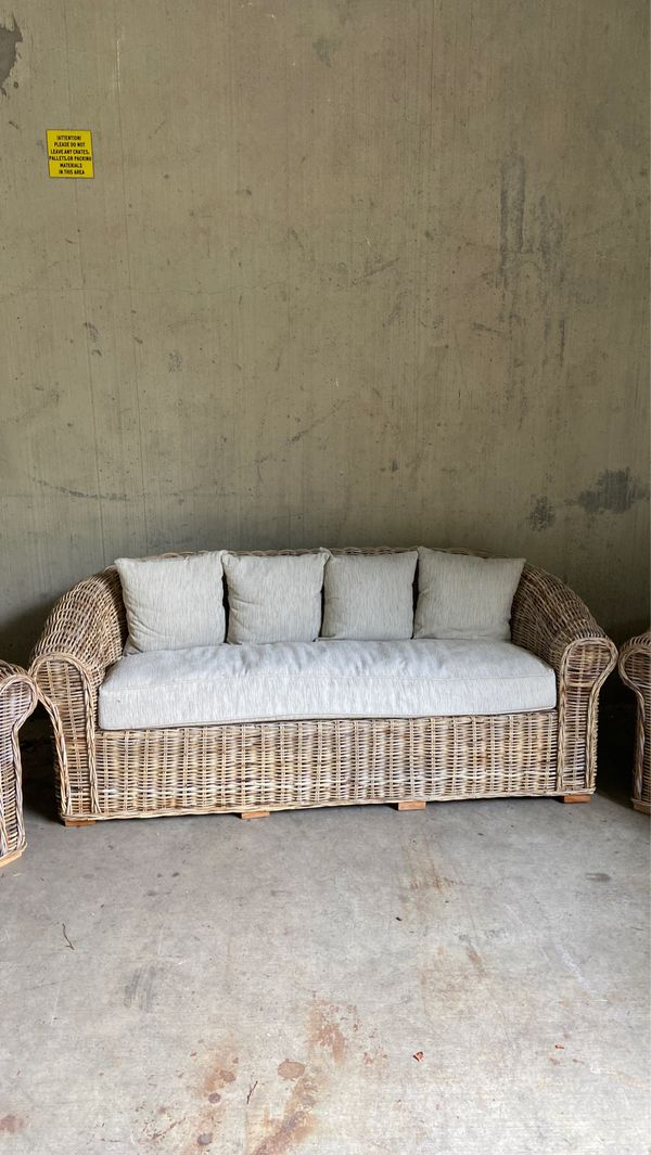 Patio Sofa Only $399! Chairs Available for $199 Each!