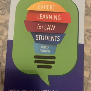 Expert Learning For Law Students Book for Sale in Glendale, CA