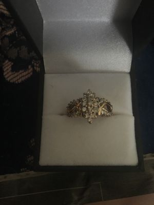 10k gold diamond ring for Sale in Silver Spring, MD