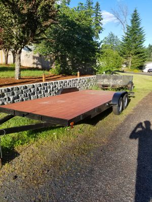 20 ft car trailer, like new for Sale in Home, WA