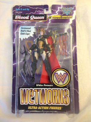 Blood Queen Wetworks Ultra Action Figure Brand New Sealed in package for Sale in Oviedo, FL