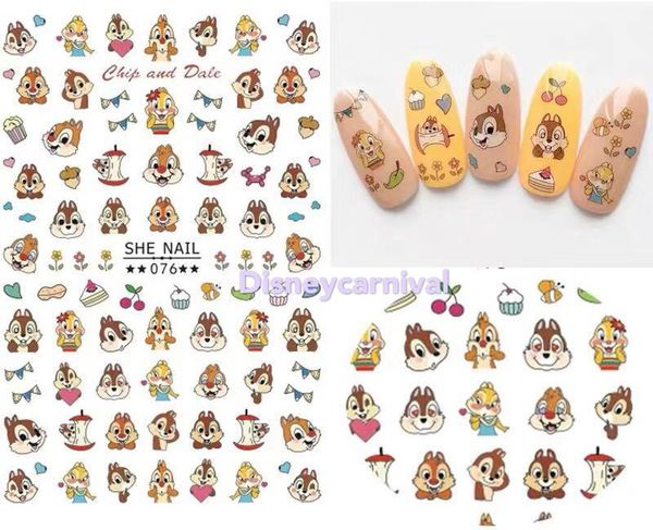 Last one! Disney Chip and Dale Nail Sticker