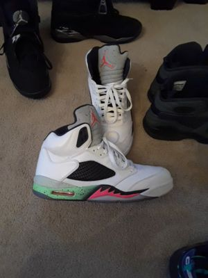 Poison green Jordan 5s sz.12 for Sale in Knoxville, MD