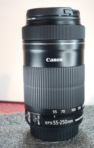 Canon EF-S 55-250mm F4-5.6 IS STM Lens for Sale in Carrollton, TX
