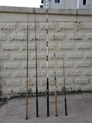 fishing rods for Sale in Malden, MA