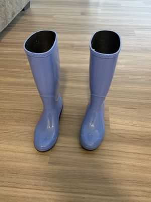 Blue ugg rain boots for Sale in South Brunswick Township, NJ