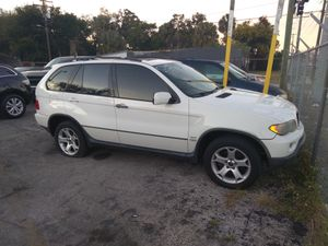 2003 bmw X5 4 doors suv 3.0 for Sale in Tampa, FL