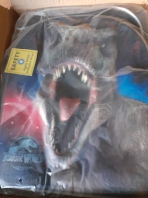 Jurassic world backpack 3d for Sale in Bakersfield, CA