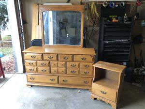 Dresser mirror nightstand for Sale in Arvada, CO