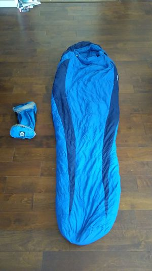 Used Marmot sawtooth sleeping bag + stuff sack for Sale in San Diego, CA