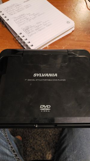 "7"" Portable DVD player for Sale in Cypress, TX"