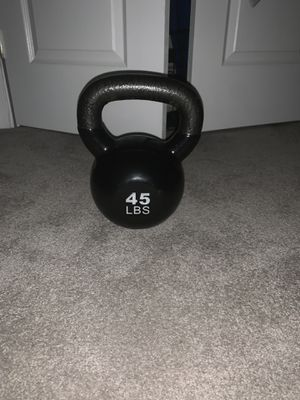 45lb Kettlebell for Sale in Bowie, MD