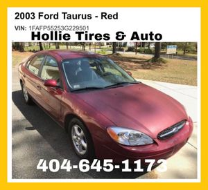 2003 Ford Taurus RUNS GREAT & Low Miles! for Sale in Decatur, GA