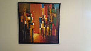 Modern Abstract Wall Canvas Art for Sale in Nashville, TN