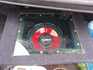 10 inch sub box for Sale in Brownsville, TX