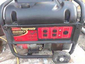 Colman powermate 6250v generator for Sale in Stockton, CA