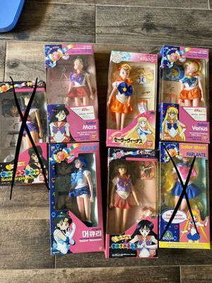 sailor moon figurines for Sale in Bradenton, FL