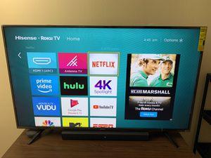 Hisense Roku TV 55' inches for Sale in Naperville, IL