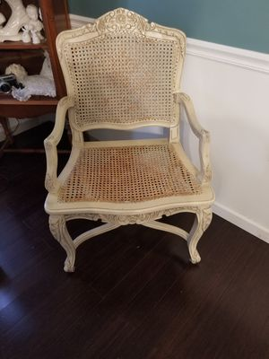 Antique French Country wood/caned chair for Sale in OH, US