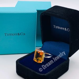 Tiffany Sparkler Citrine Ring Size 8 for Sale in Brooklyn, NY