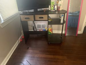 Espresso Desk with drawers for Sale in Garfield Heights, OH