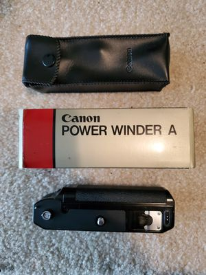 Canon Camera Power Winder A for Sale in Everett, WA