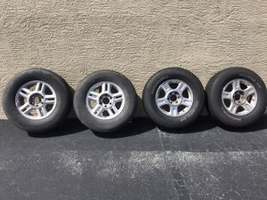 6 lug tires and rims for Sale in West Palm Beach, FL