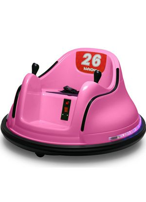 Kids Toy Electric Ride On Bumper Car Vehicle Remote Control 360 Spin all colors available for Sale in Suwanee, GA