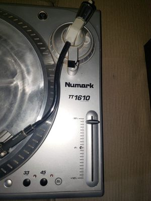 Dj equipment: Numark turntable and 2 channel equalizer with ipod dock for Sale in Mesa, AZ