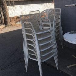 Used tables and chairs free please pick up next for Sale in Salt Lake City,  UT