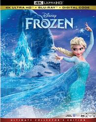 Frozen 4K UHD digital movie code only for Sale in Providence, RI