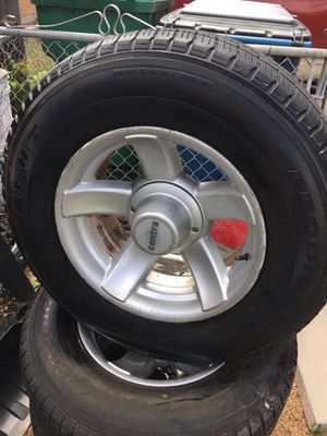 Rims 17s for Chevy o ram for Sale in Thornton, CO
