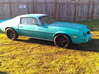 1980 Camaro all original,V6,pwr Windows for Sale in Buckley,  WA
