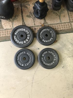 4 standard 10lb weights for Sale in Heathrow, FL