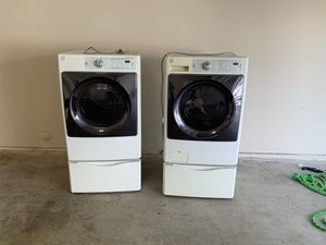 Kenmore washer and dryer need gone today!!!! for Sale in El Cajon, CA