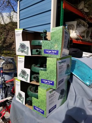 Lawn sprinklers recommended for large areas adjustable for Sale in Washington, PA