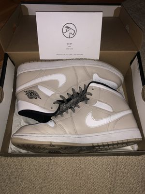 Jordan 1 Mid Desert Sand Men's 10.5 for Sale in Seattle, WA