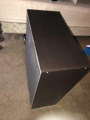 Black two door desk for Sale in Houston, TX