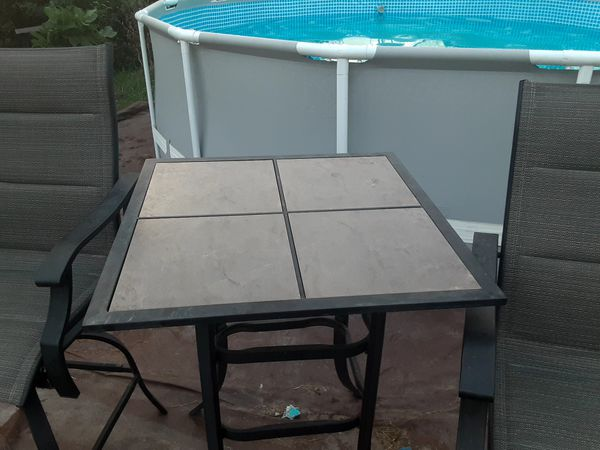 Table guc and chair Table needs to be reinforce $100Ppu san leon
