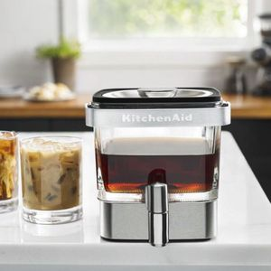 KitchenAid cold brew coffee maker - glass and stainless steel for Sale in Naples, FL