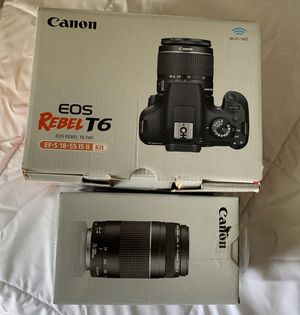Canon EOS rebel t6 for Sale in Palm City, FL