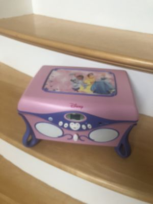 cd player / jewelry box for Sale in Glocester, RI